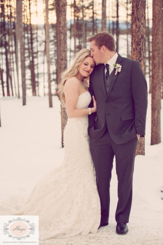 Colorado Winter Wedding